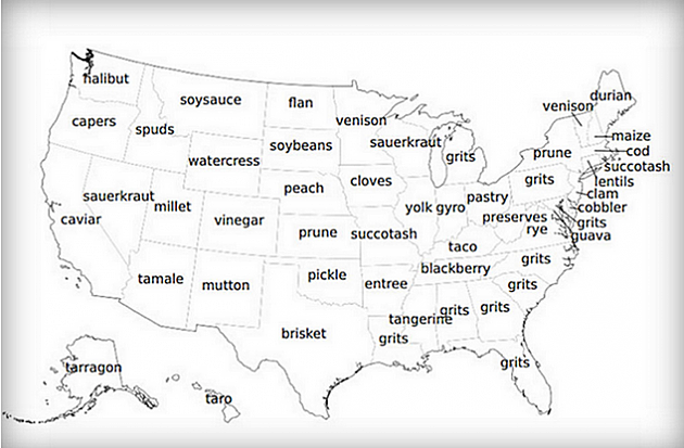 most popular food in every state